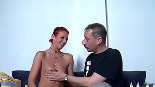 MMV FILMS Mature Amateur Couple play Kinky
