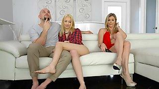 Cory Chase n Sierra Nicole shared a cock