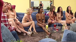 Milf couples and hot guys fuck each other in front of their couples to make them horny enough.