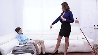 Fucking The Stepassociate s son As Punishment